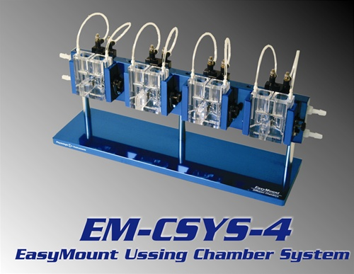 Ussing Chamber Systems design that includes individual